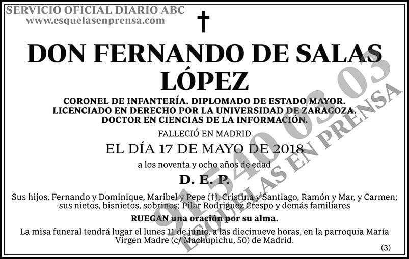 Fernando de Salas López